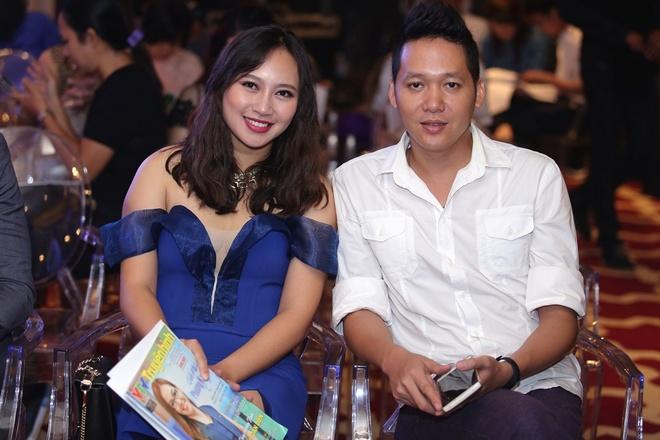 A hau Thanh Tu hoi ngo hoa hau Ngoc Han tai su kien hinh anh 8