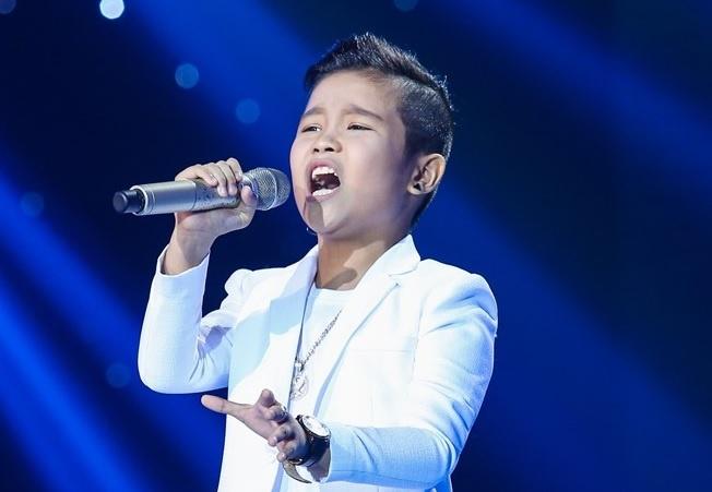 Nhat Minh - cau be con nha noi cua The Voice Kids 2016 hinh anh