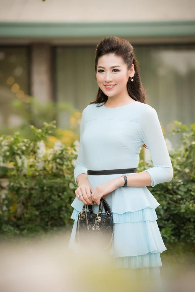 Hoa hau Ngoc Han hoi ngo dan nguoi dep HHVN 2016 hinh anh 3