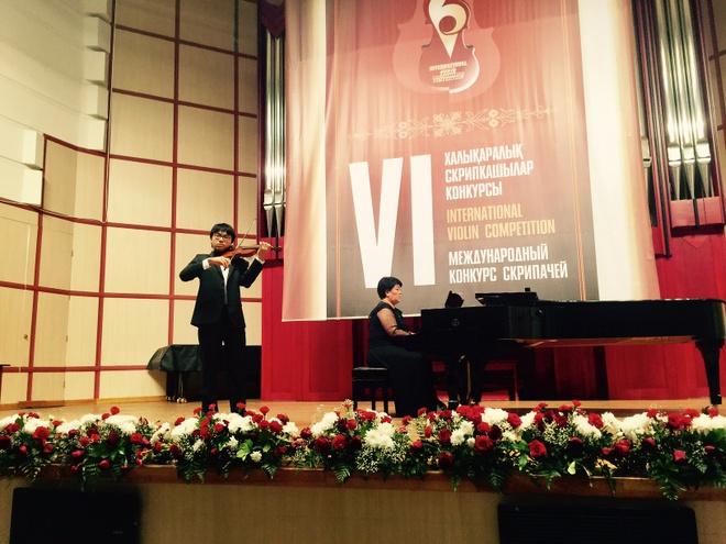 Cau be Viet 14 tuoi gianh giai Nhat cuoc thi violin Quoc te hinh anh 1