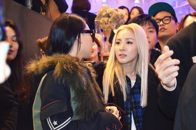 CL va Dara lai mot lan nua gui loi nhan toi fan ham mo hinh anh 1