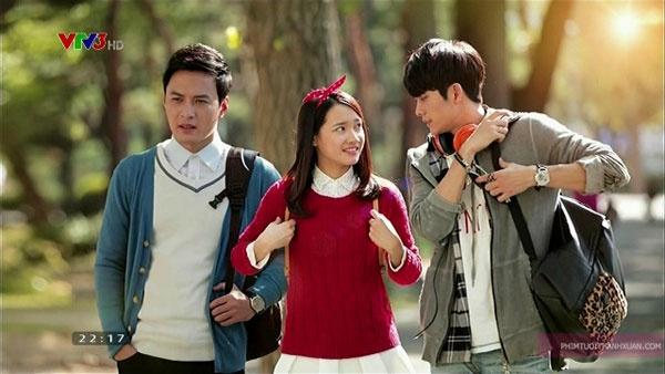 Hong Dang noi yeu Kang Tae Oh trong hau truong phim hinh anh 1