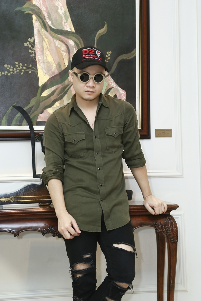 Pho An My lam nhac live cho show Do Manh Cuong hinh anh 1