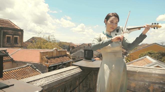 Nghe si violin Han Quoc di khap Viet Nam de lam MV hinh anh 2