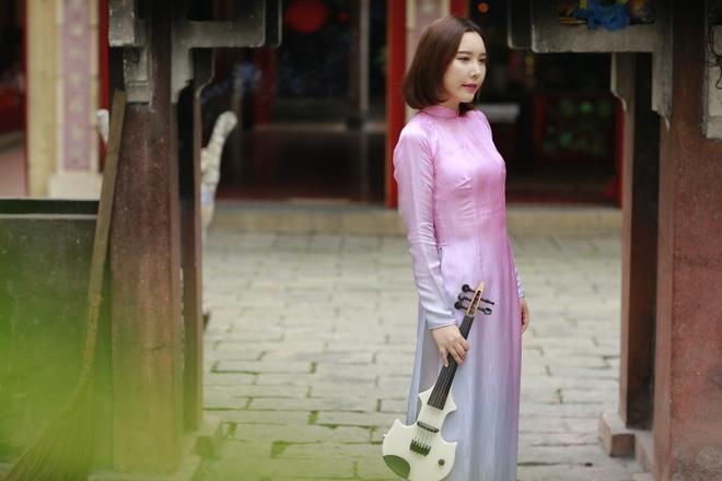 Nghe si violin Han Quoc di khap Viet Nam de lam MV hinh anh 1