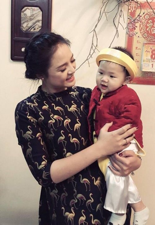 Thu Quynh khong dong y ngu chung giuong voi Chi Nhan vi con hinh anh 2