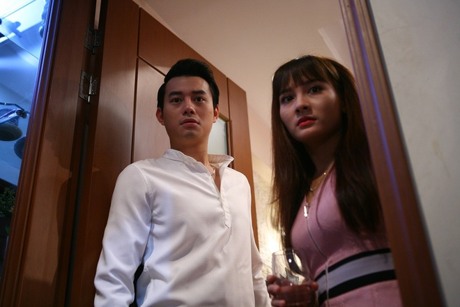canh phim Song chung voi me chong anh 1