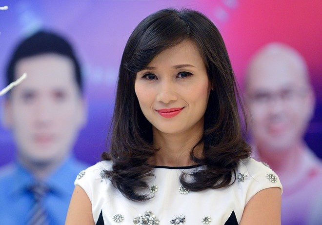 Nha bao Le Binh nghi viec o VTV hinh anh