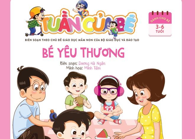 'Tuan cua be': Bo sach tong hop dau tien cho be 3-6 tuoi hinh anh