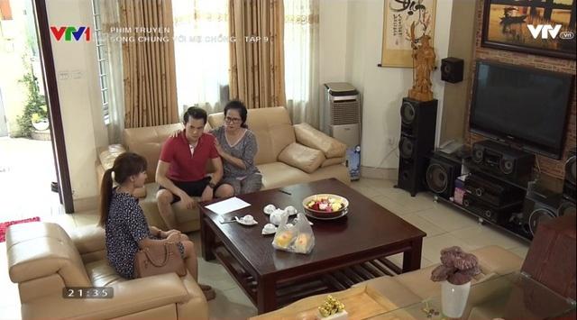 'Song chung voi me chong' tap 9: Ba Phuong viet don ly di chong hinh anh 2