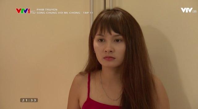 'Song chung voi me chong' tap 11: Ba Phuong khong cho Van tranh thai hinh anh 3