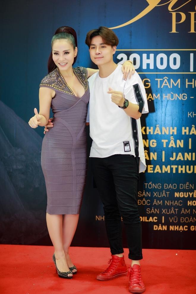 Ali Hoang Duong hua se khong phan boi 'su phu' Thu Minh hinh anh 3
