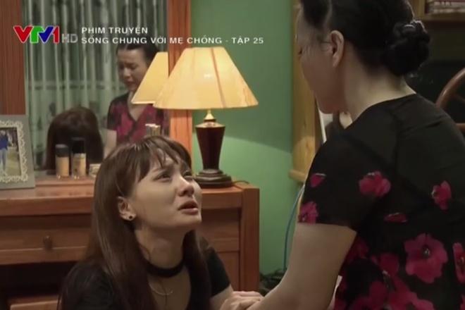 'Song chung voi me chong' tap 25: Van quy goi xin duoc ly hon hinh anh