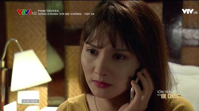 'Song chung voi me chong' tap 28: Thanh van xin Van quay lai hinh anh