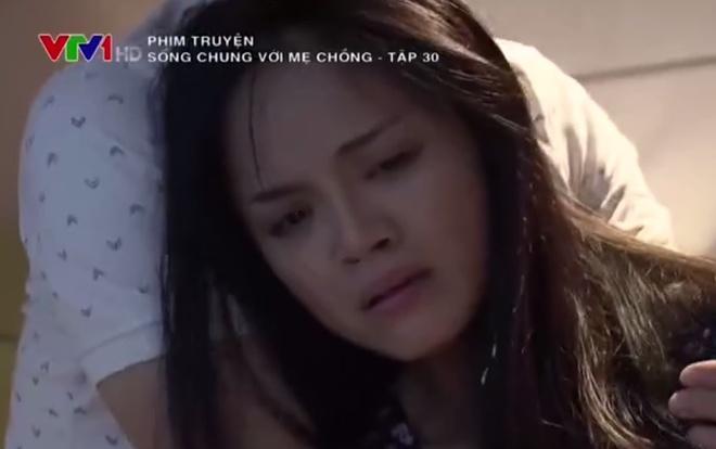 'Song chung voi me chong' tap 30: Khan gia uc che vi kich ban vo ly hinh anh