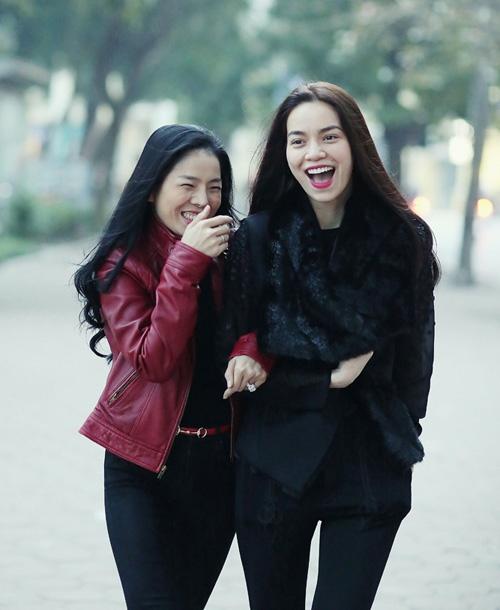 Le Quyen se hoa giong voi Ho Ngoc Ha trong dem nhac tai Ha Noi hinh anh 2