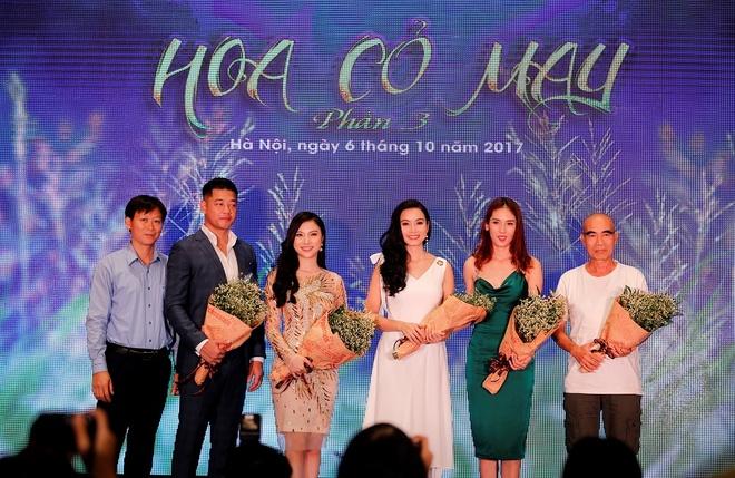Ho Ngoc Ha, Vi Cam vang bong trong phan 3 phim 'Hoa co may' hinh anh 1