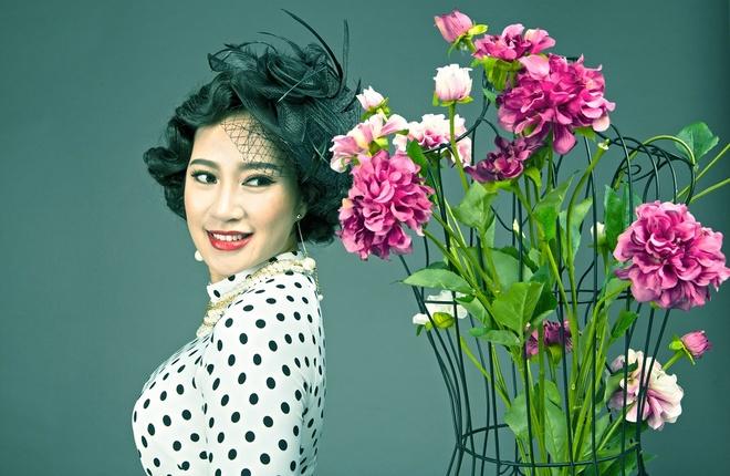 Khanh Linh muon lot xac trong am nhac nhu 'ngai hoa buom' hinh anh 1