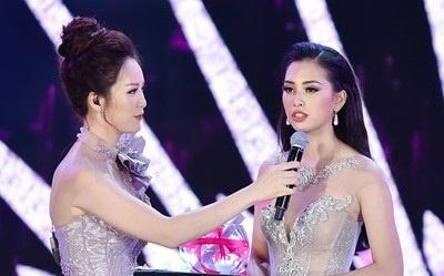 Phan thi ung xu Hoa hau Viet Nam 2018 gay tranh cai vi 'cach mang 4.0' hinh anh