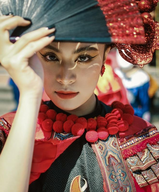 Hoang Thuy Linh nhac den Nhat ky Vang Anh trong MV moi hinh anh 7 DSCF8268.jpg