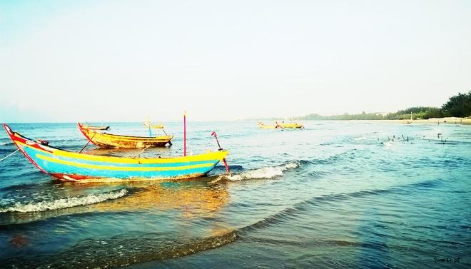 Nhon nhip lang chai vung bien vang hinh anh 1 Vùng biển vắng Hàm Thuận Nam.