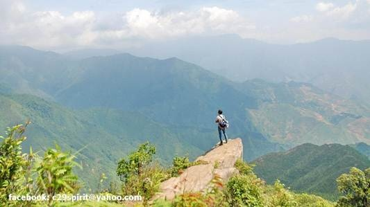 Chinh phuc 3 dinh Ta Xua hinh anh 2 Đầu rùa nhìn từ trên cao.