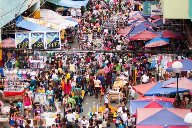 Nhung khu cho gia re dong khach nhat the gioi hinh anh 8 Chợ Divisoria, Manila: Khu chợ này nổi tiếng với hàng hóa phong phú và giá cả dễ chịu, thiên đường cho những người thích mặc cả. Ảnh: Gettyimages.com