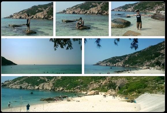Di tim chu 'binh' o vuong quoc tom hum hinh anh 4 Bãi Nồm cát mịn, nắng ấm, biển trong đắm làm say đắm du khách gần xa.