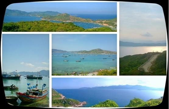 Di tim chu 'binh' o vuong quoc tom hum hinh anh 7 Vẻ đẹp hoang sơ, hùng vĩ của làng biển Bình Ba tuyệt đẹp.