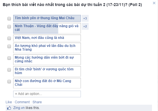 Viet Nam, noi dau cung la nha hinh anh 9 Bình chọn bài dự thi tuần 2 (17-23/11)