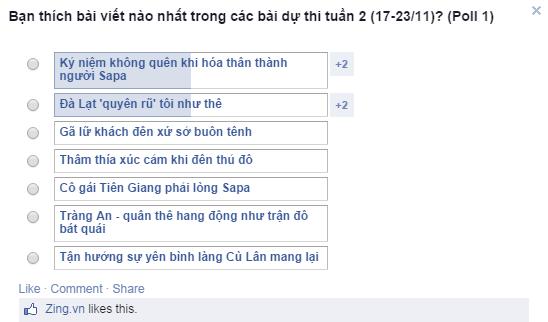 Ga lu khach den xu so buon tenh hinh anh 6 Bình chọn bài dự thi tuần 2 (17-23/11)