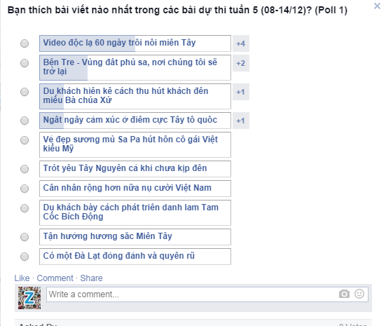 Trot yeu Tay Nguyen ca khi chua kip den hinh anh 2 Bình chọn bài dự thi tuần 5 (08-14/12)