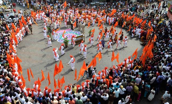An Do don Tet nhieu mau sac nhat hinh anh 5 Phong tục đón năm mới của người Ấn Độ rất phong phú và đa dạng.