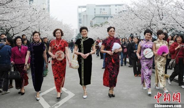 10 noi ngam hoa anh dao dep nhat the gioi hinh anh 18 Đây cũng là trạm chung chuyển của chuyến tàu điện ngầm tới tham quan các địa điểm nổi tiếng khác của Thượng Hải, nên nó đã trở thành điểm đến lý tưởng của du khách và người dân địa phương.