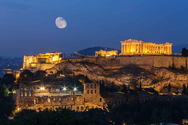 10 diem den chau Au gia re cho du lich he hinh anh 6 6. Athens, Hy Lạp  Chi phí rẻ hơn so với năm 2014 là 15%   Giá khách sạn trung bình: <abbr class=