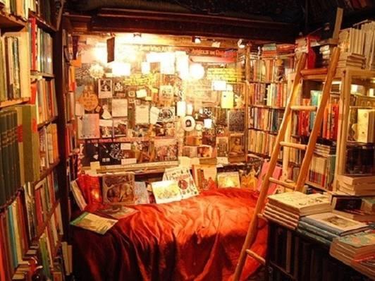 """Có một điều đặc biệt là ở đây, người đọc có thể tìm mượn hoặc mua lại những cuốn sách thậm chí bị cấm lưu hành, xuất bản ở Anh và Mỹ như Lady Chatterley's Lover, Ulysses...  Lối kiến trúc cổ kính nơi đây đã thành nơi quen thuộc không thế thiếu của người hâm mộ sách. Shakespeare and Company đã được vinh danh trên hàng loạt tờ báo với những danh hiệu: """"Một trong những tiệm sách đẹp nhất thế giới"""", """"Hiệu sách được chụp ảnh nhiều nhất thế giới"""",..."""