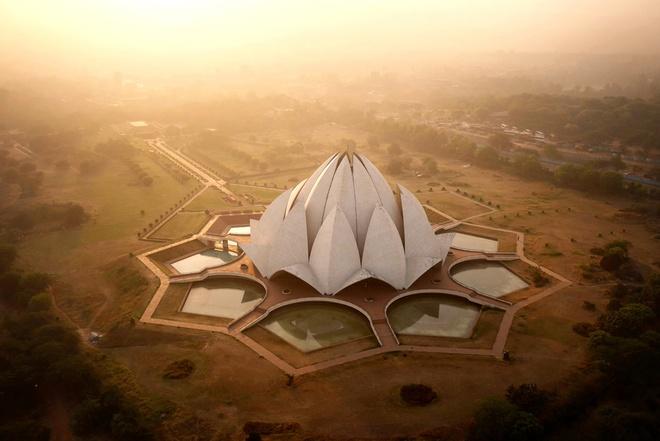 Đền Lotus, Ấn Độ.