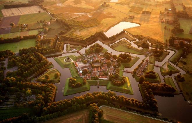 Pháo đài Bourtange, Hà Lan.