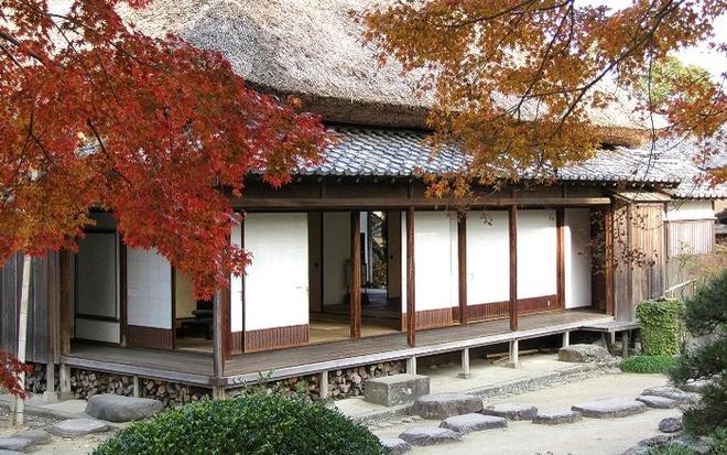 Nhung ngoi lang samurai bi an cua Nhat Ban hinh anh 9 Dinh thự Ohara thuộc thị trấn Lâu đài Kitsiki trong ảnh từng là nhà của quản gia gia tộc Matsudaira, với kiểu kiến trúc đặc trưng như mái nhà lợp rơm.