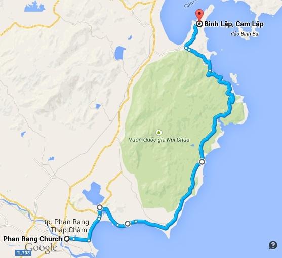 Khởi hành từ thành phố Phan Rang - Tháp Chàm đến địa phận Cam Ranh, Khánh Hòa, cung đường ven biển DT702 ôm trọn vườn quốc gia núi Chúa từ lâu đã là một cung đường trong mơ đối với những ai đam mê khám phá.