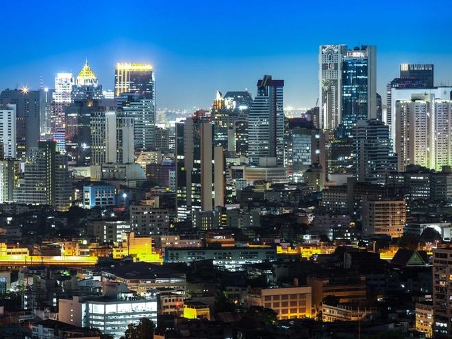 Nhung thanh pho co duong chan troi dep nhat hanh tinh hinh anh 10 10.Băng Cốc, Thái Lan: 923 tòa nhà cao tầng trên diện tích 1568 km2.