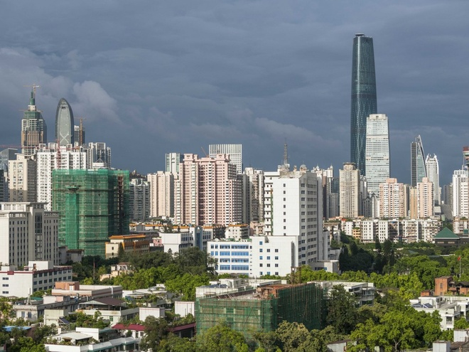 Nhung thanh pho co duong chan troi dep nhat hanh tinh hinh anh 12 12.Quảng Châu, Trung Quốc: 543 tòa nhà cao tầng trên diện tích 7434 km2.