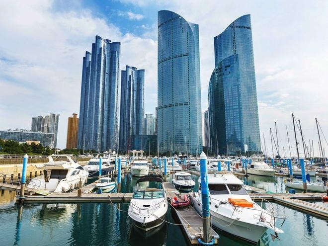 Nhung thanh pho co duong chan troi dep nhat hanh tinh hinh anh 14 14.Busan, Hàn Quốc: 351 tòa nhà cao tầng trên diện tích 527 km2.