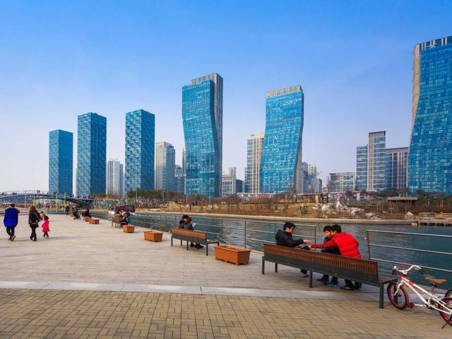 Nhung thanh pho co duong chan troi dep nhat hanh tinh hinh anh 16 16.Incheon, Hàn Quốc: 494 tòa nhà cao tầng trên diện tích 1029 km2.