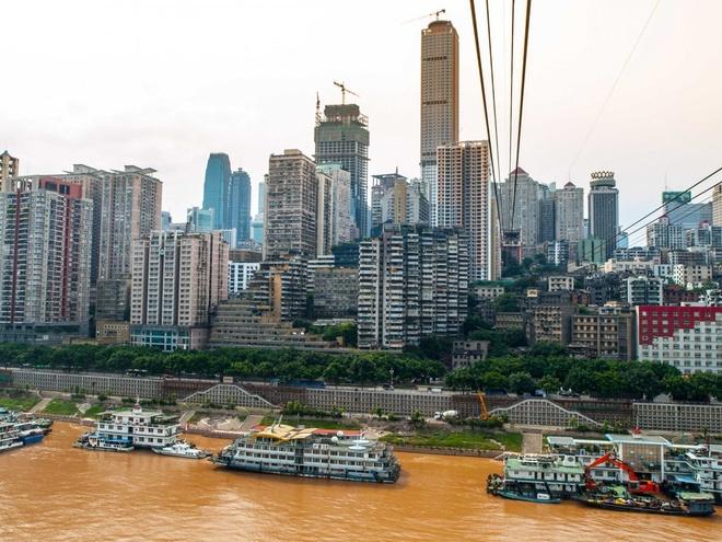 Nhung thanh pho co duong chan troi dep nhat hanh tinh hinh anh 17 17.Trùng Khánh, Trung Quốc: 541 tòa nhà cao tầng trên diện tích 8430 km2.