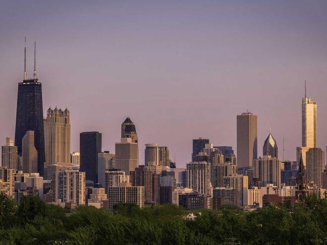 Nhung thanh pho co duong chan troi dep nhat hanh tinh hinh anh 7 7.Chicago, Mỹ: 1160 tòa nhà cao tầng trên diện tích 589 km2.
