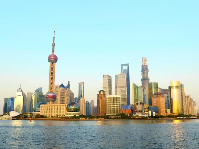 Nhung thanh pho co duong chan troi dep nhat hanh tinh hinh anh 8 8.Thượng Hải, Trung Quốc: 1121 tòa nhà cao tầng trên diện tích 6638 km2.