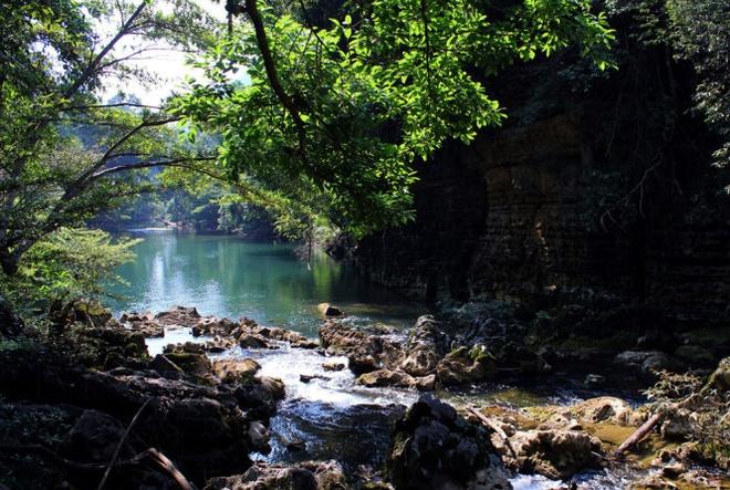 Lac buoc o Hung Tung, Quang Binh hinh anh