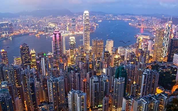 Hong Kong: Diem den xa hoa va soi dong hinh anh
