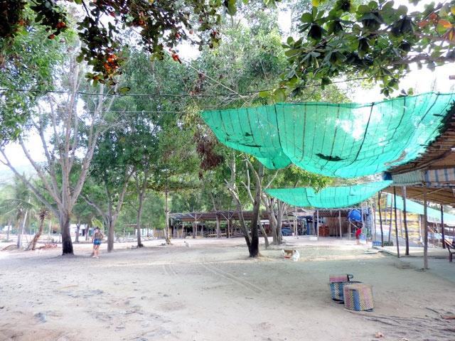 Kham pha ve dep hoang so cua Bai Dai o Nha Trang hinh anh 11 Hải sản bán tại các hàng quán nơi đây rất tươi ngon